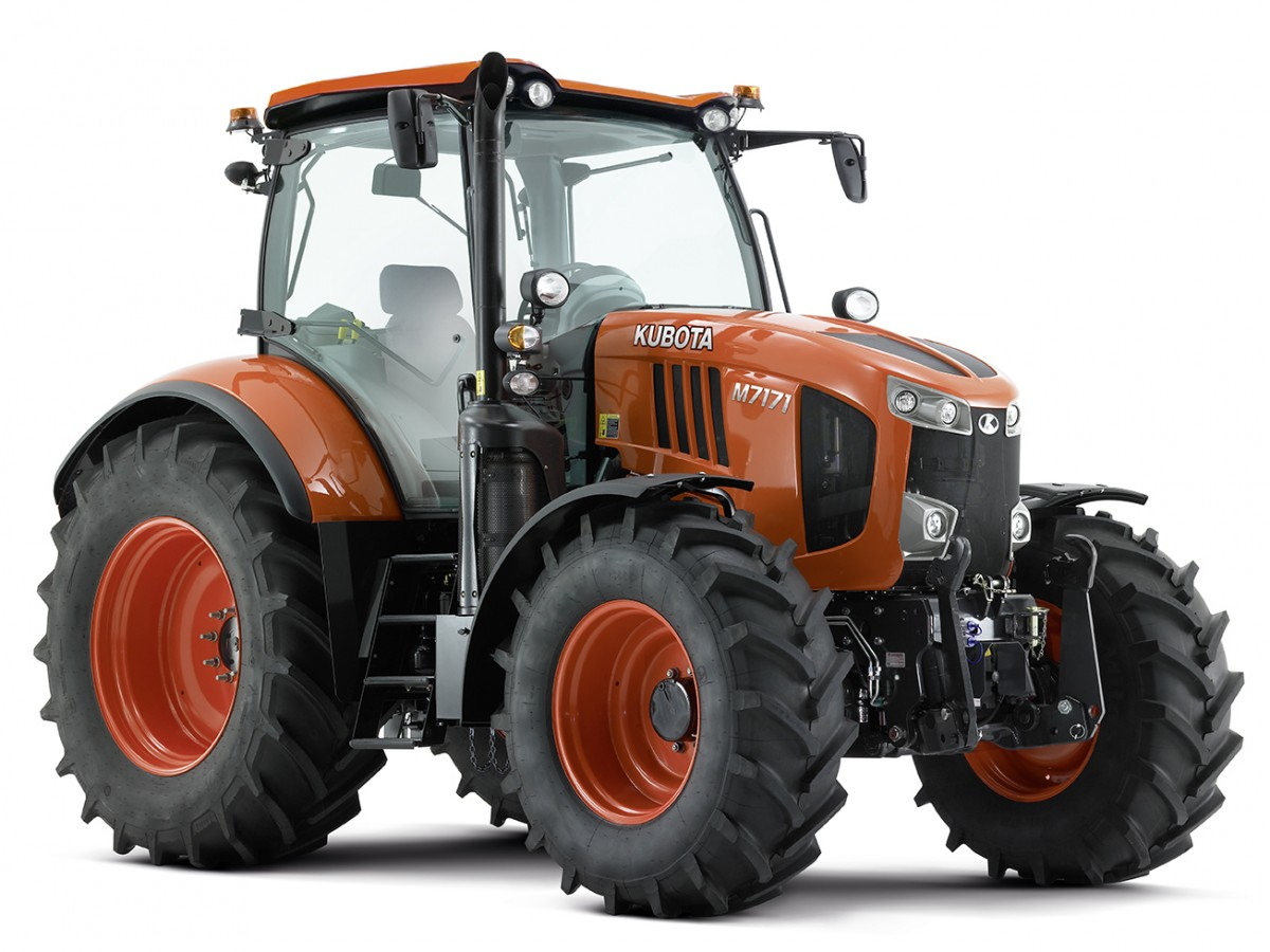 Agricultural Tractors M7171 Standard - KUBOTA
