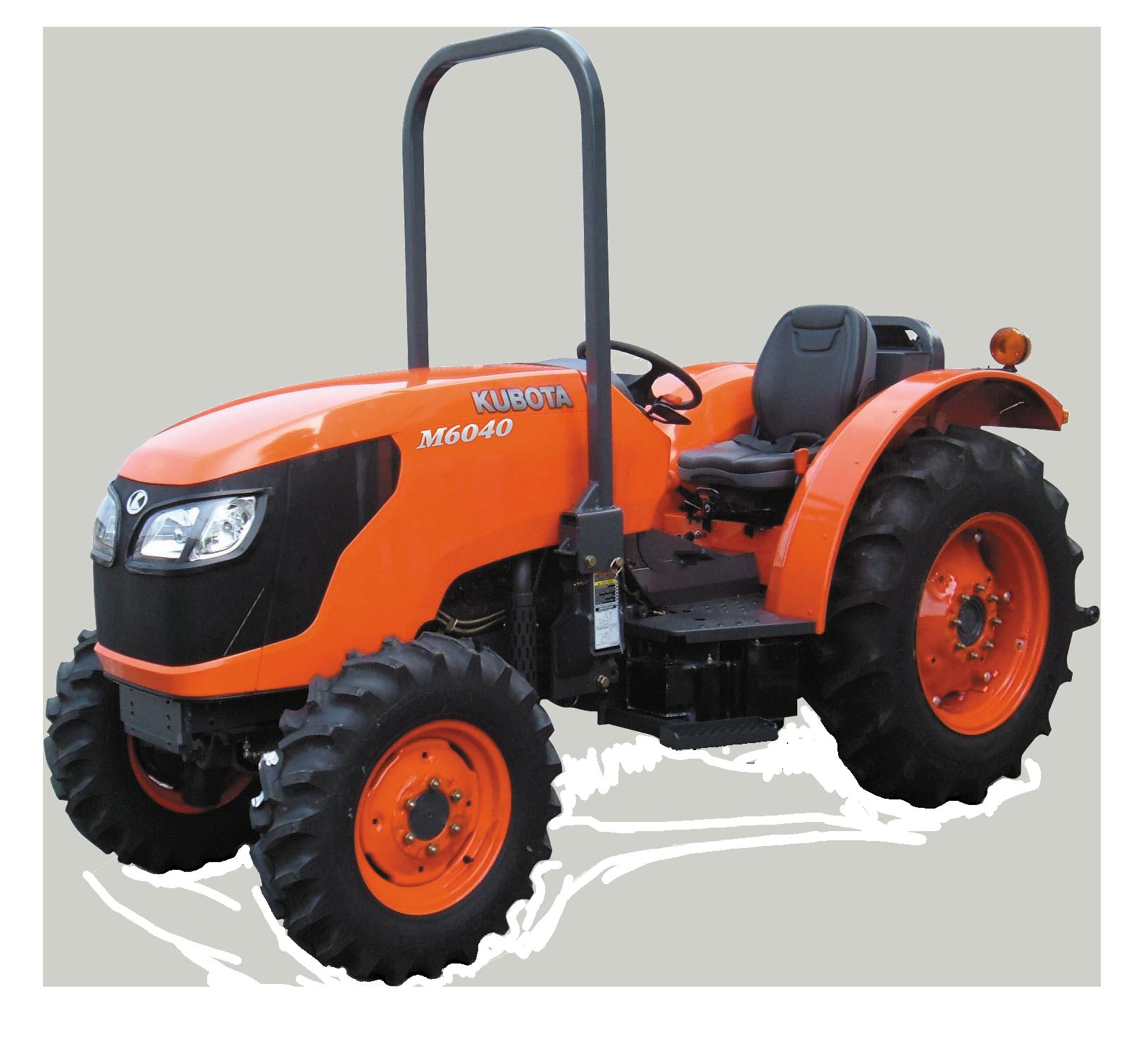 Agricultural Tractors M6040 N - KUBOTA