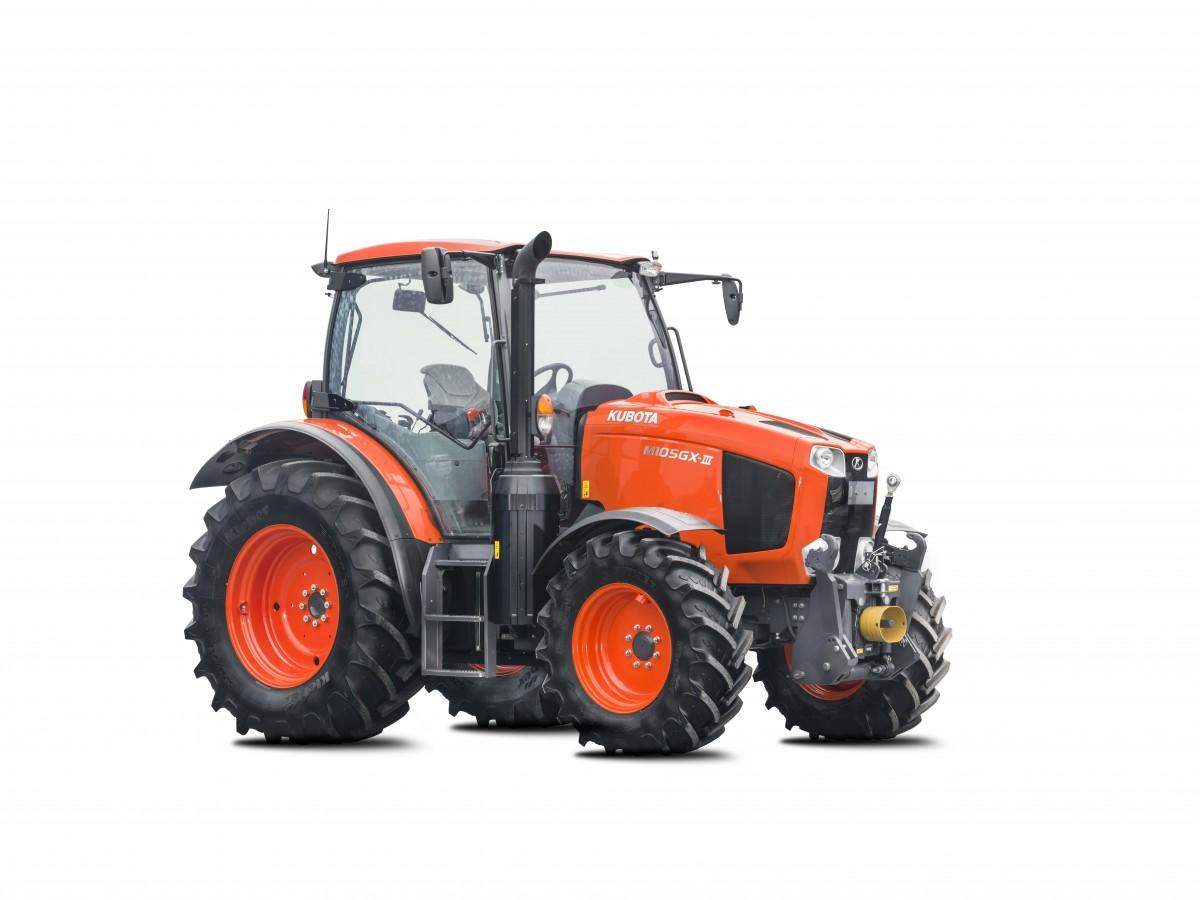 Agricultural Tractors M105GX-III - KUBOTA
