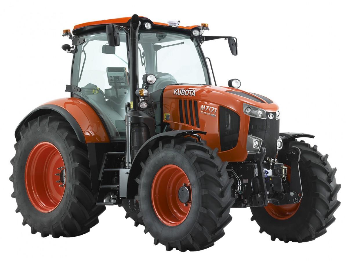 Ältere Modelle M7171 Premium-KVT - KUBOTA