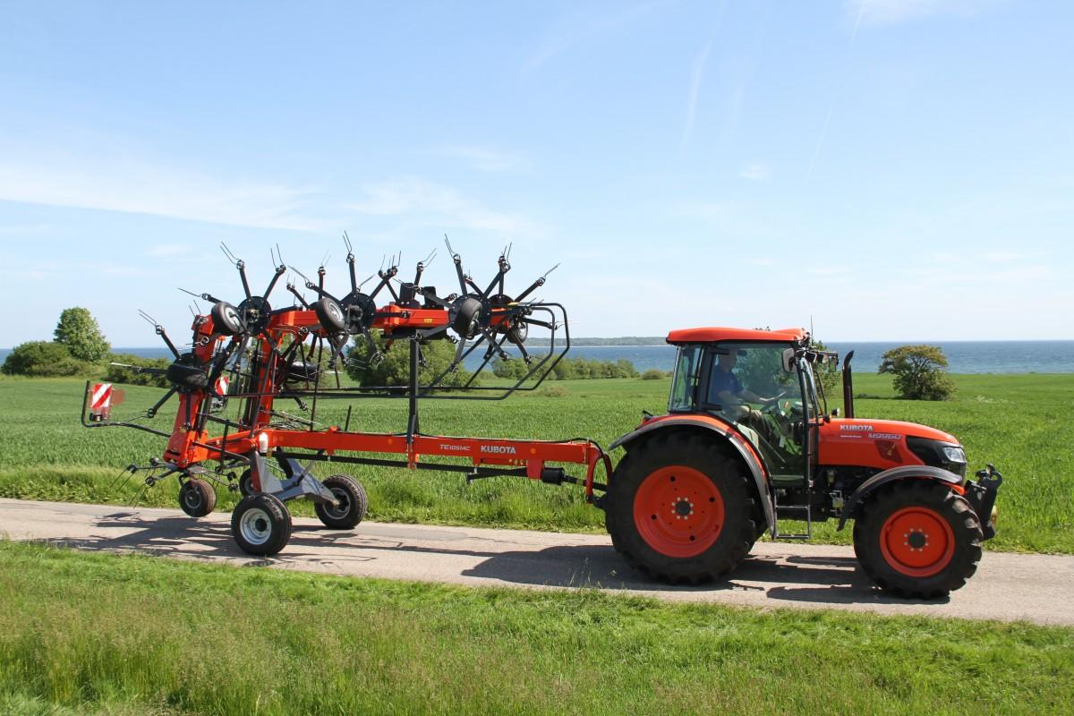 Agricultural Tractors M9960 - KUBOTA