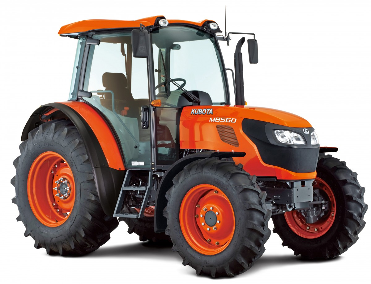 Agricultural Tractors M8560 - KUBOTA