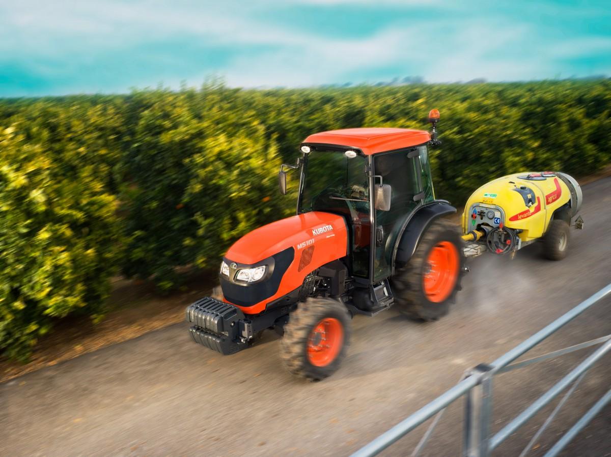 Spezialisierte Traktoren M5091 Narrow Cab - KUBOTA