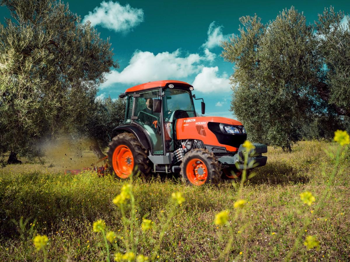 Spezialisierte Traktoren M5101 Narrow Cab - KUBOTA