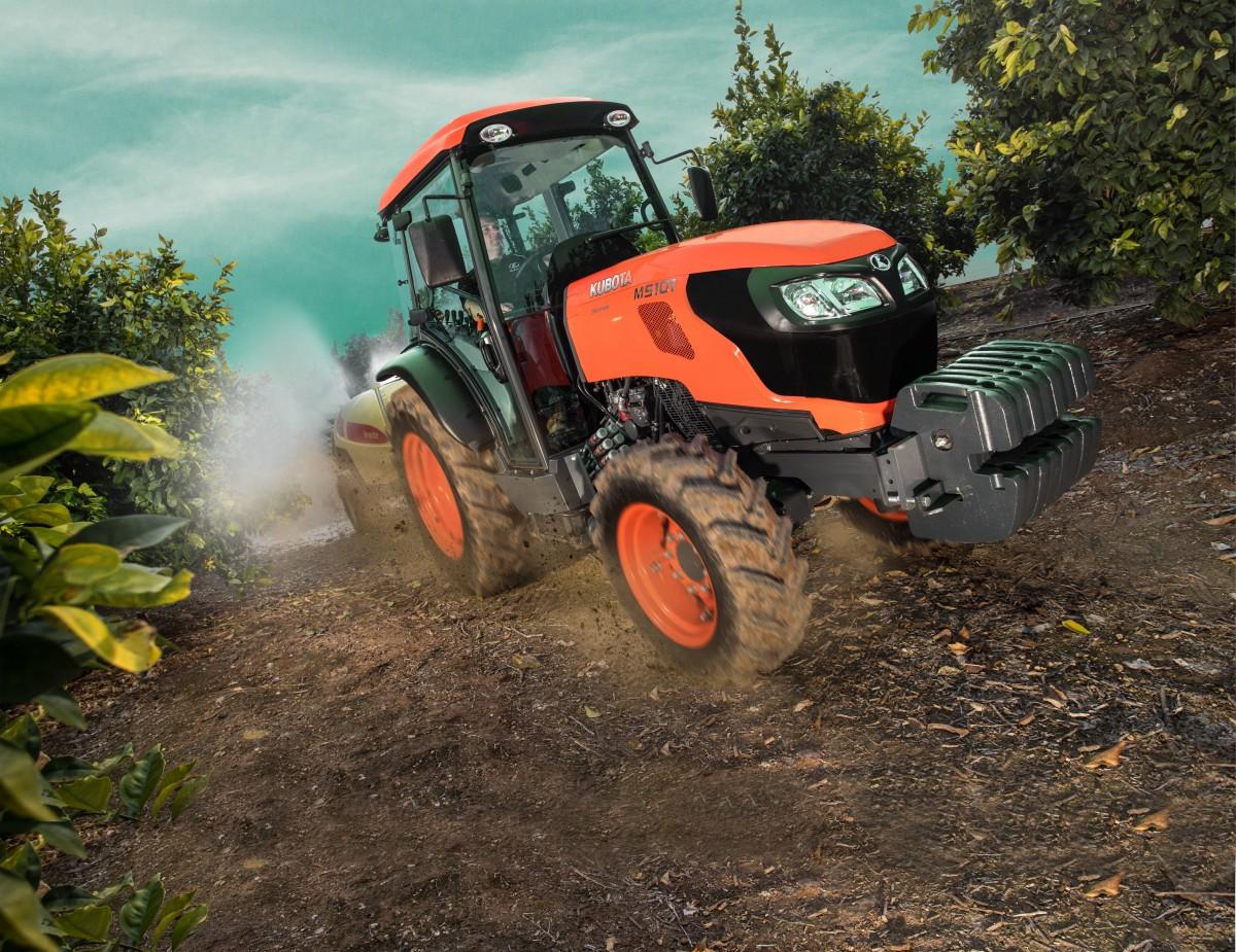 Spezialisierte Traktoren M5071 Narrow Cab - KUBOTA