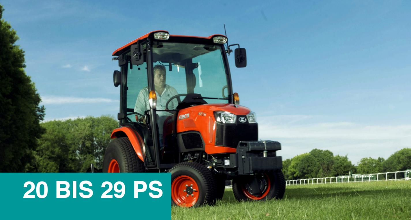 Kompakttraktoren B2 (20 bis 29 PS) - KUBOTA