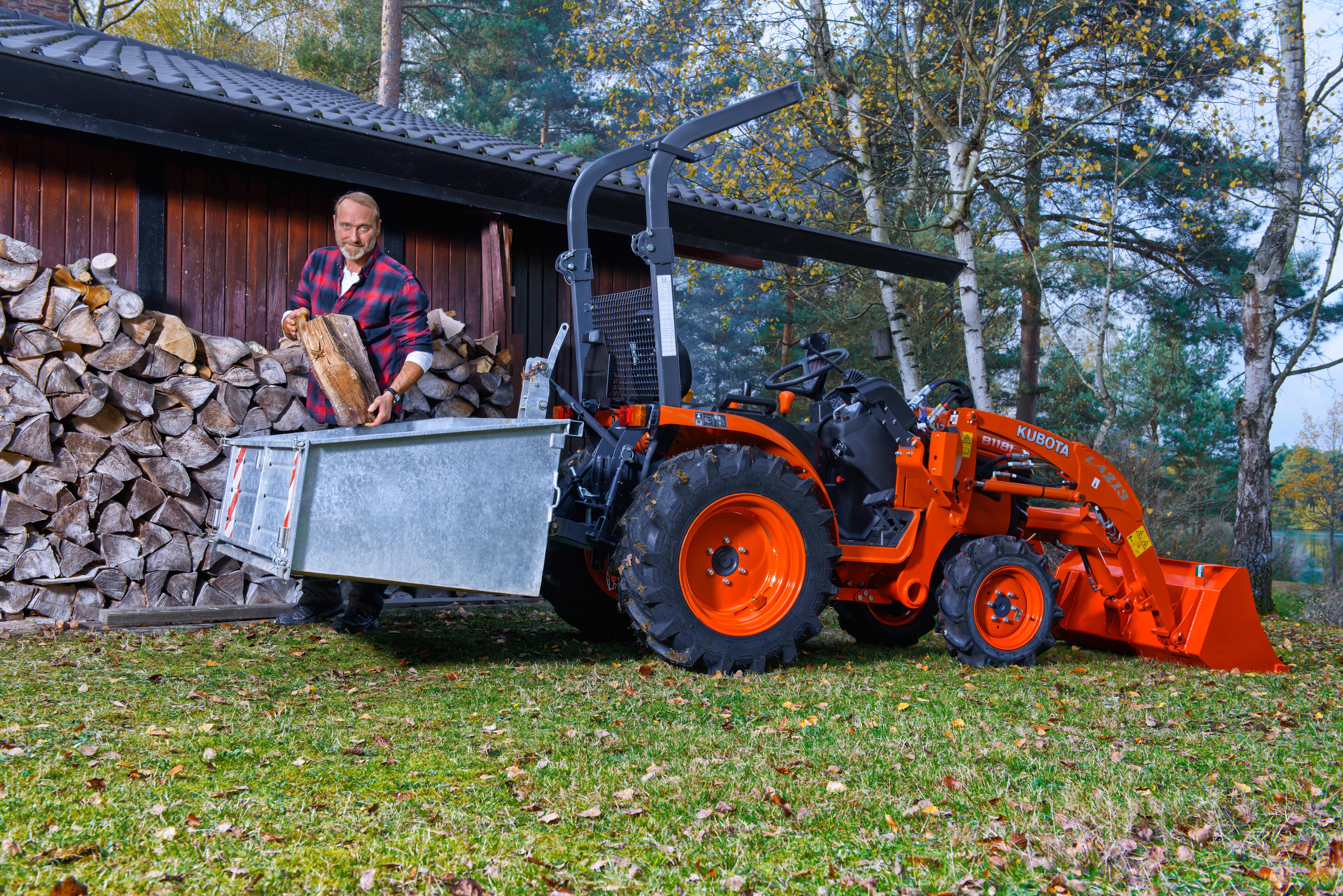 compact tractors kubota b1620 - kubota