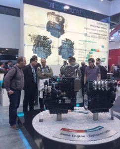 KUBOTA_bauma Messestand_Diesel- und Gasmotoren